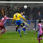 As he did in 2018, Dave Diedhiou scored for St Albans City against Corinthian Casuals in the FA Cup.