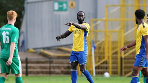 Dave Diedhiou saved St Albans City's blushes with a late equaliser against Corinthian Casuals in the FA Cup.