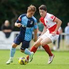 Ryan Doherty put Welwyn Garden City in front at Didcot Town.