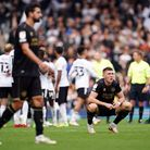 Queens Park Rangers' Jimmy Dunner (right) is dejected at the final whistle following the Sky Bet Cha