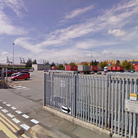A man died under suspicious circumstances at Hodgkinson Road Lorry Park in felixstowe, suffolk early this morning