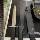 A man has been charged after police found a knife in a St Neots property