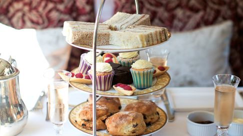 Those travelling on the Sunday can choose between afternoon tea and a Sunday lunch Credit: Courtesy