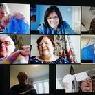 A Knit and Natter online group