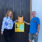 An AED was installed at Clevedon Sailing Club.