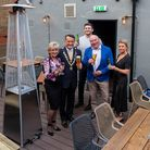 The White Swan in St Albans has opened a new roof garden