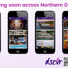 The app showcases businesses, events and promotions in the area