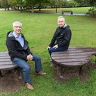 The Talking Point Bench was unveiled on World Mental Health Day.