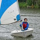 Nina Ferguson proved an instant hit at Welwyn Garden City Sailing Club with a third place.