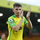 Billy Gilmour of Norwich applauds the fans during the Pre-season friendly match at Carrow Road, Norw