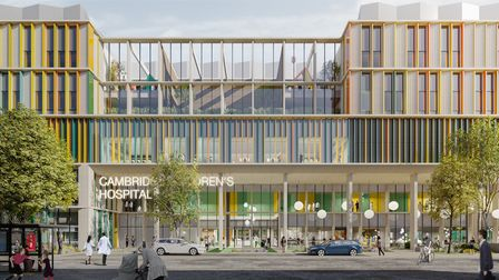An artists' impression of the new Cambridge Children's Hospital