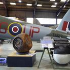 TheHighball restored and now under the DH Mosquito B Mark 35 at the de Havilland Aircraft Museum.