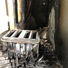 Norfolk Fire and Rescue Service have urgedpeopleto check their smoke alarms aftera blaze at an Attleborough home.