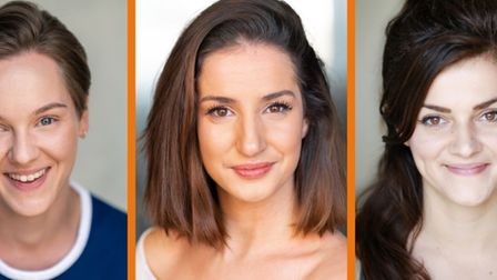 My First Panto: Cinderella Rocks will have an all-female cast: Sarah Workman, Rebecca Levy and Rhiannon Hopkins.