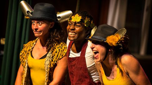 Tarzanna, the children's adventure show comes to the New Wolsey Theatre, Ipswich, for October half-term