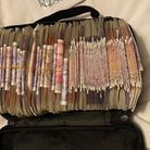 Two men found in possession of a large quantity of cash, in Thetford, were arrested on suspicion of money laundering.