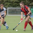 Grace Balsdon on the ball for Hampstead & Westminster (pic Mark Clews)