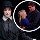 Rehearsalsfor Private Lives, whichcan be seen attheAbbey Theatre in St Albans.