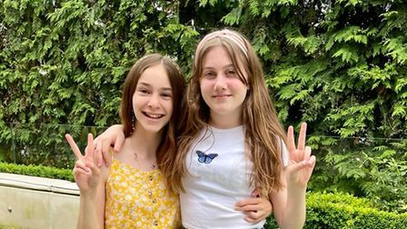 Jessie and Sophie want Afghan refugees to know they are welcome in the UK