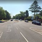 The collision occurred on London Road, St Albans, close to the junction with Drakes Drive.
