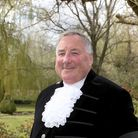 Simon Brice in the High Sheriff of Essex's outfit