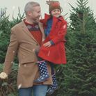 Youcan wander around Marldon Christmas Tree Farm with your family and dog and choose your own tree from tens of thousands