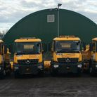 When will gritters come out in the UK
