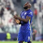 Chelsea's Romelu Lukaku rues a missed chance during the UEFA Champions League, Group H match at Alli