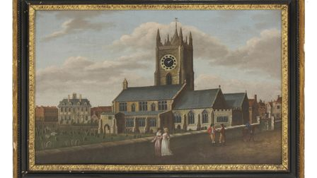 Antiques by late Wisbech dealer Peter Crofts will be sold at Sworder Fine Interiors sale December 14-15: Wisbech scene