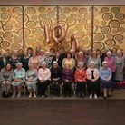 Current members of Wheathampstead WI celebrate the institute'scentenary.