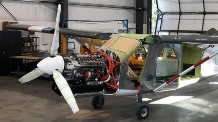 A RED Aircraft V12 turbodiesel engine
