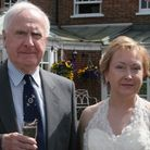 Cathy Gardner with her father, Michael Gibson. Picture: Supplied by Cathy Gardner