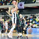 Holly Winterburn of London Lions in action against Zabiny Brno