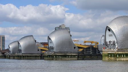 File photo dated 2/9/2014 of the Thames Barrier. Tony Blair's Government was urged to consider occas