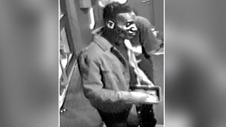 Police are seeking this man in relation to the recent sexual assault near the Ipswich waterfront in Suffolk