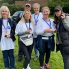 A fundraising walk was held between Letchworth and Royston to raise money for Citizens Advice North Herts