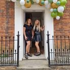 Karama Simpson, left, and Gillian Hassom, who have opened Bronzed and Boujee tanning salon in Stalham's High Street.