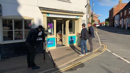 TheRSPCA Mid Norfolk and North Suffolk branch in Wymondham being filmed for BBC One's Rip Off Britain