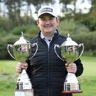 Knebworth Golf Club's Jamie Rutherford won both the PGA EuroTour Championship and the Order of Merit.