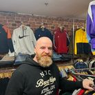 Dave O'Halloran used to be a market trader and caravan salesman before opening his vintage clothing shop.