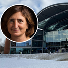 City councillor Lucy Galvin is among those to criticise the loss of the tourist information centre at The Forum