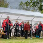 Ottery Silver Band returned to live performance
