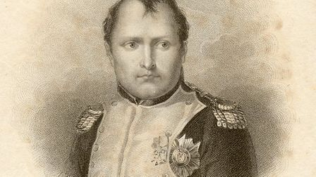 An engraving of Napoleon Bonaparte from Hester's collection