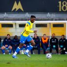 Sinclair Armstrong of Torquay United during the National League match between Torquay United and Kin