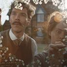 Benedict Cumberbatch and Claire FoystarinThe Electrical Life of Louis Wain
