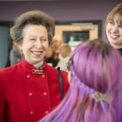The Food Works SW opening by the Princess Royal.