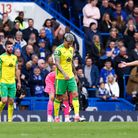 The Norwich players look dejected after conceding their sideÕs 5th goal during the Premier League ma