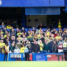 A tough watch for the travelling Norwich City fans at Chelsea