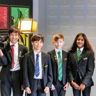 Clevedon School students have been learning the craft of filming from Mondadori Education.