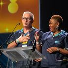 Dr Paul Gilluley and Chief People Officer Tanya Carter.
